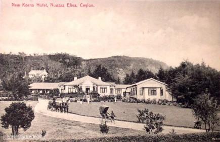 New Keena Hotel, Nuwara Eliya, Sri Lanka 1910s
