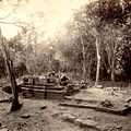 A ruined Buddhist temple at Polonnaruwa, Ceylon