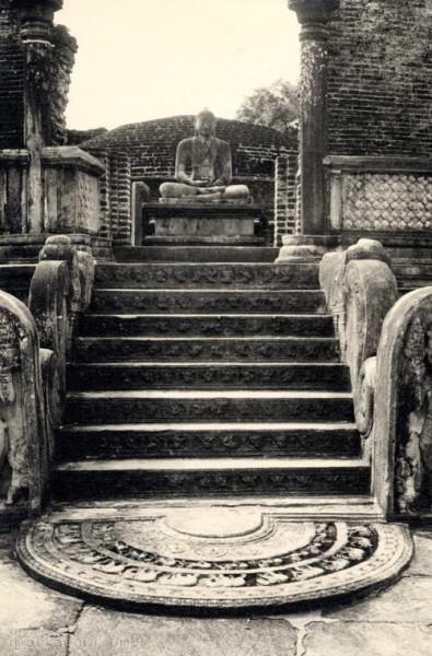 Watadage Temple, Polonnaruwa, Ceylon