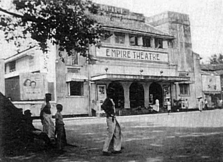Empire cinema Colombo Ceylon 1941