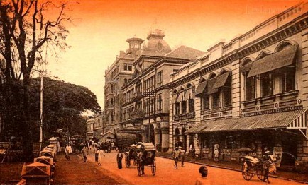 Princes street, Colombo Ceylon early 1900s