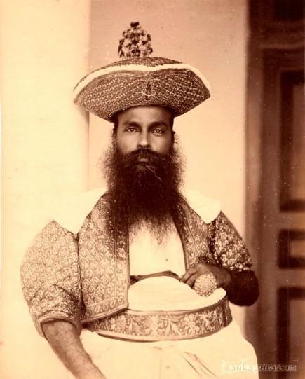 Ceylon Kandyan Chief 1875