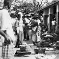Typical market scene at Trincomalee