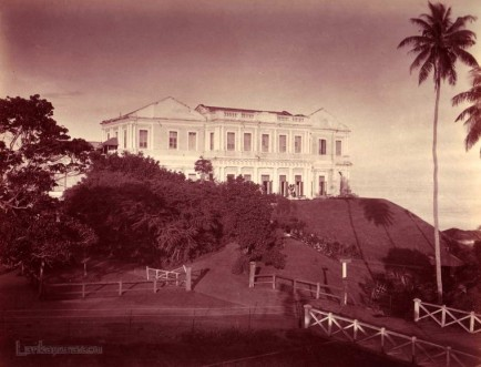 View of Mount Lavinia Hotel, Colombo, Ceylon 1860-1880