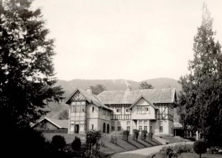 The governors residence at Nuwara Eliya, Ceylon 1927