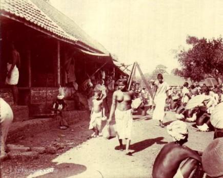 Low caste Girl at market place