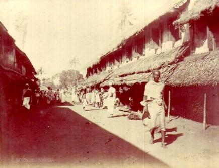 Native quarters in Colombo, Ceylon in Late 1800s