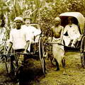 Riding on Rickshaws, Ceylon