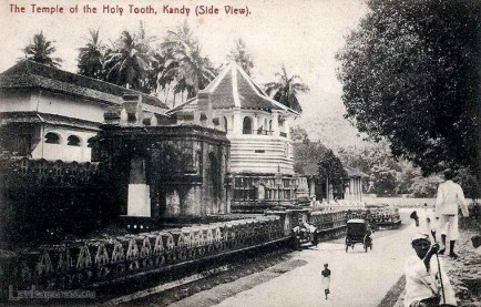 Temple of the Holy Tooth, Kandy, Sri Lanka Late 1800s