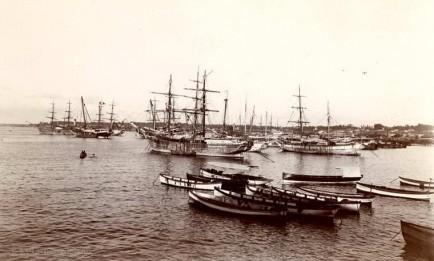 Colombo Harbour, Ceylon 1910