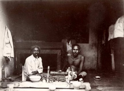 Primitive Gemstone Cutting Technique in Ceylon 1903
