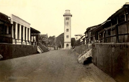 Chatham street, Colombo in 1870