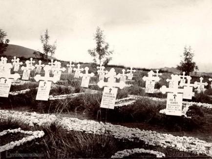 The Boer Cemetery near Bandarawela, Ceylon 1903