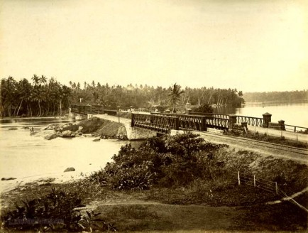 Railway Bridge Over Bentota River