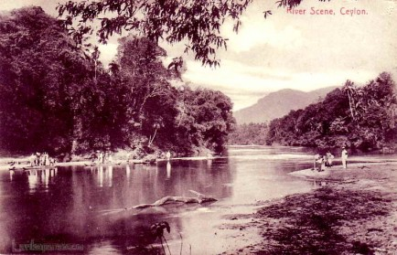Kalu Ganga at Rathnapura 1870