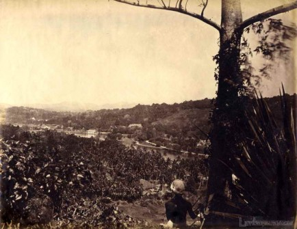 View of Kandy Ceylon c.1880