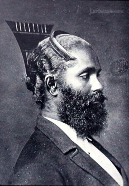 Sinhalese man, Ceylon c1900
