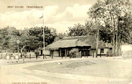 Rest House at Trincomalee 1911