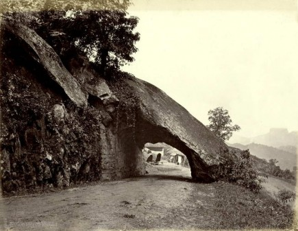 Kadugannawa roadway rock tunnel 1880