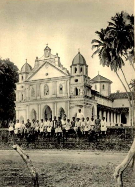 Church at Marawila, Sri Lanka 1932