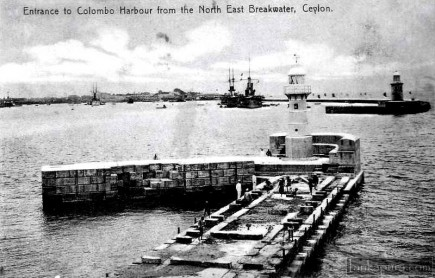 Entrance to Colombo Harbour