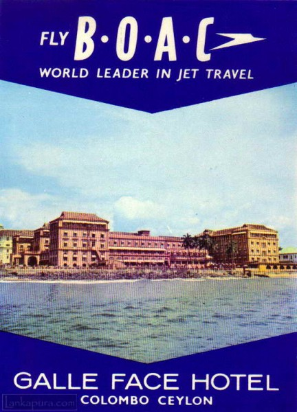 Galle face hotel Promotional Flyer