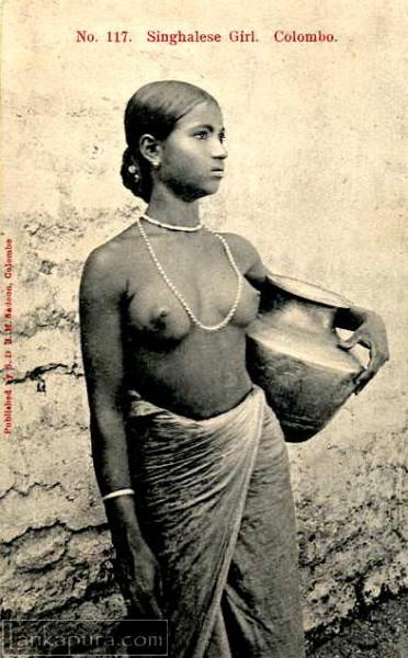 Sinhalese Girl, Ceylon