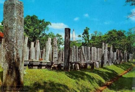 Brazen Palace - Anuradhapura Sri Lanka