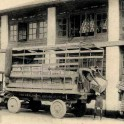 Men loading Tea Boxes on to a Lorry