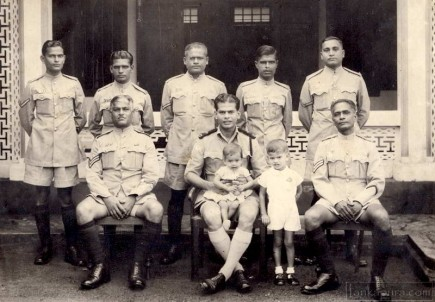 group of police men ceylon
