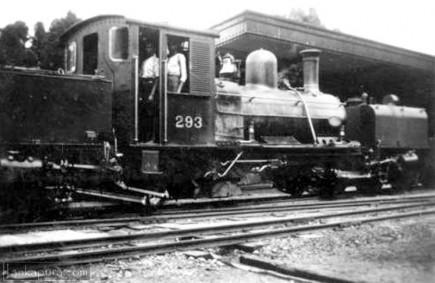 Narrow gauge railway - Nanuoya to Nuwara Eliya, Sri Lanka 1905-1950