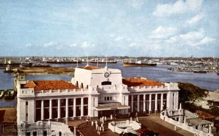 Colombo Harbour 1960