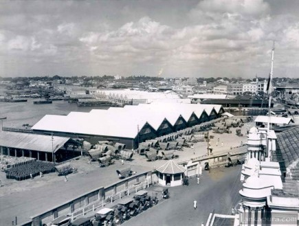Colombo Dock Yard Sri Lanka in 1942