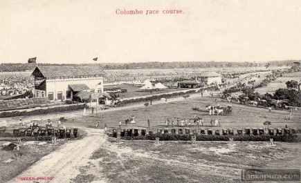 Colombo Racecourse in Cinnamon Gardens by Skeen