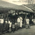 Street Scene, Native Shops near Colombo