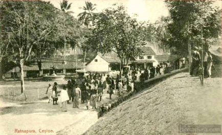 Ratnapura town and its people